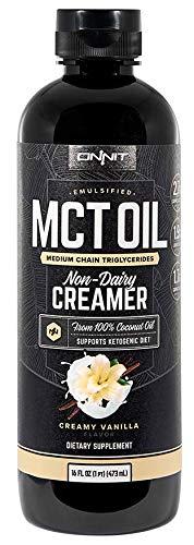 Onnit Emulsified MCT Oil - Creamy Vanilla