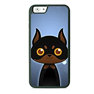 Case Fun Case Fun Doberman by DevilleART TPU Rubber Back Case Cover for Apple iPhone 6 4.7 inch
