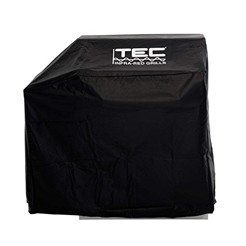 TEC Vinyl Grill Cover for Freestanding Sterling II and Patio II with Left Side Shelf (ST30VC1)