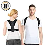 Ufanore Posture Corrector for Men&Women, Adjustable Clavicle Back Brace with 2 Free Soft