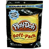 Play-Doh Soft Pack and 1 Shape Cutter - Black