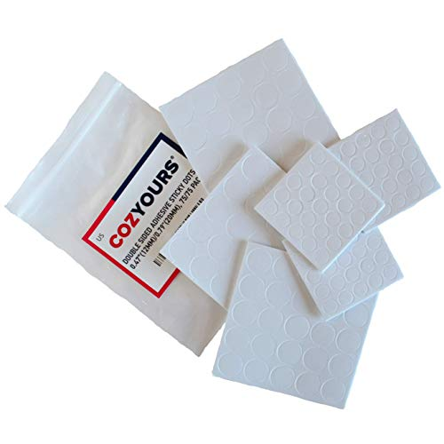 Cozyours Candle Wick Stickers (150 Pcs, 2 Sizes), Made of Heat Resistance Glue