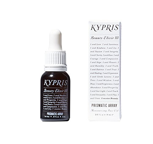 KYPRIS - 100% Natural / Vegan MINI Beauty Elixir III : Prismatic Array Facial Serum