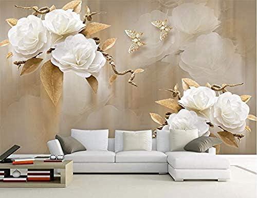 Wallpaper Mural 3d Custom Hd Oil Painting Wind Brown Elegant