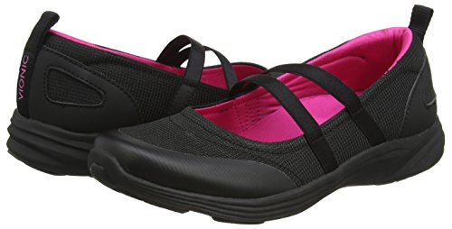 Vionic para mujer ágil Opal Slip-On Mary Jane Sneaker Black (Black)