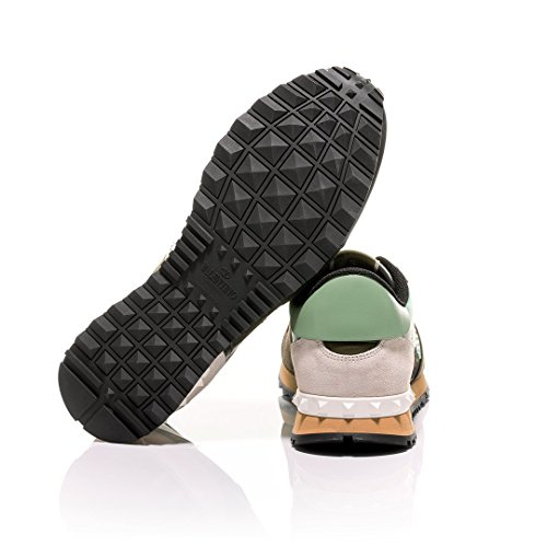 hot sale for sale cheap sale low price Valentino Minty Green Camouflage-Print Rockrunner Sneakers best seller online cheap authentic sale real 604fI3cV3y