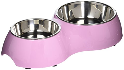 Dogit Double Diner, Pink