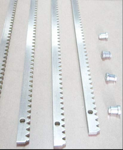 NSEE Steel Gear Rack Track for SL/PY AC 600/800/1400/1800/DKC500-800 Gate Opener Size: 1m / 3foot