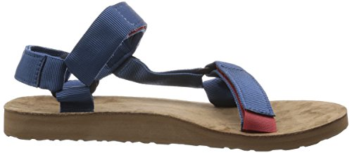 TEVA - - Uomo - Sandales Original Leather Sole Bleu pour homme -