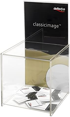 Deflect- o DE66001 - Caja para sugerencias o tarjetas de visita ...
