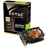 ZOTAC GeForce GTX 750 Ti 2GB グラフィックスボード 日本正規代理店品 VD5281 ZTGTX750TI-2GD5R01
