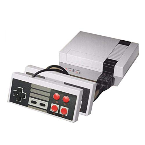 ANZER Retro Classic Mini Game Console Childhood Game Consoles Built-in 620 Game Dual Control 8-Bit Console Handheld Game Player Console for Family TV Video Bring You Happy Childhood Memories