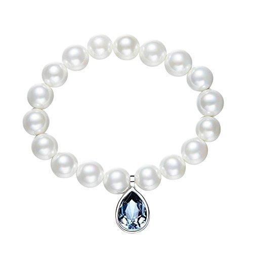 LXIANGP Bracelet Pearl Lady Bracelet Element Crystal Bracelet Fashion Minimalist Bracelet