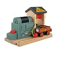 Fisher-Price Thomas & Friends Wooden Railway, estación de carga de baterías - Funciona con baterías