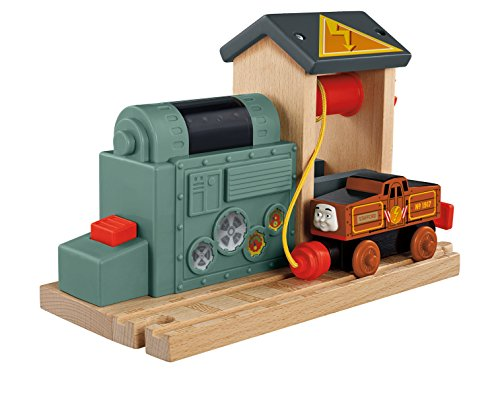 Fisher-Price Thomas & Friends Wooden Railway, Battery Charging Station - Battery Operated (Battery And Friends Thomas)