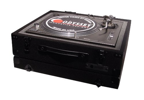 Odyssey CTTE Carpeted Econo Turntable Case With Surface Mount Hardware