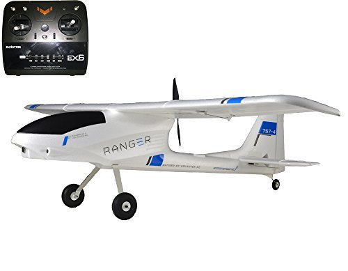 Review 6CH 2.4Ghz 1.4M Ranger FPV training Glider Plane 757-4 Airplane RTF w/Brushless Motor RC Battery+Charger