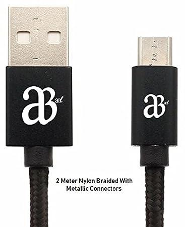 AEL® Super schnelles Laden Micro USB-Kabel [2 Pack | 1 m/3,3 ft ...