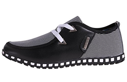 The New Style mens casual shoes, Black, 8 D(M) US - New Styles Shoes