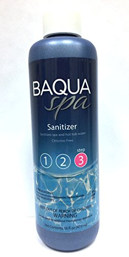 (Baqua Spa Sanitizer - 16 fl oz)