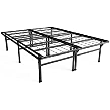 Zinus 18 Inch Premium SmartBase Mattress Foundation/4 Extra Inches high for Under-bed Storage/Platform Bed Frame/Box Spring Replacement/Strong/Sturdy/Quiet Noise-Free, Queen
