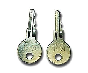 10L0L Ignition Key Fits All EZGO Gas And Electric golf carts (2PCS)17063-G1 by GLOBAL MATTER WING