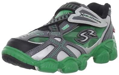 Stride Rite X-Celeracers Hulk Sneaker (Toddler/Little Kid),Black/Green,9.5 M US Toddler