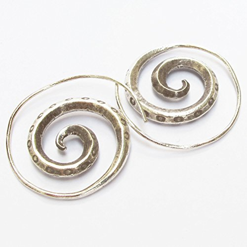 Handcraft Hammered Earrings (Danai Presents.