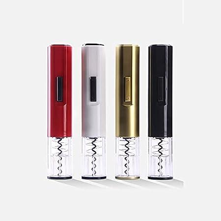 DingSORA Sacacorchos Eléctrico Automático, Abrebotellas De Vino Eléctrico, Sin Cables, Con Cortador De Papel De Aluminio DingSORA (Color : Dorado)