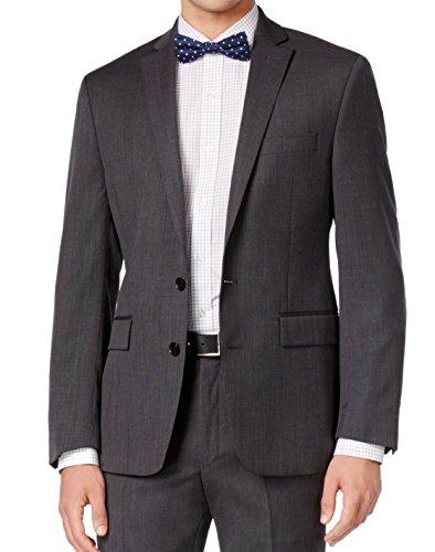 Ryan Seacrest Grey Birdseye Two Button Wool New Men's Sport Coat (40 (Birdseye Sport Coat)
