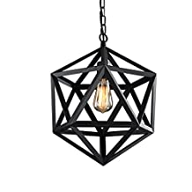 European Industrial Style Retro Chandelier American Style Wrought Iron Bird Cage Lamps Creative Restaurant Bedroom Light Fixture Single Head Pendant Lights