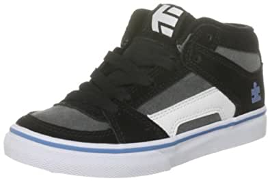 Etnies Kids' Autism Speaks Rvm Vulc Skate Shoe, Black/Blue/Grey, 1.5 M US Little Kid