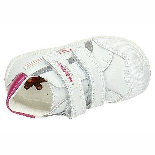 Pablosky ,  Mädchen Sportschuhe Weiß / Rosa