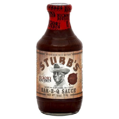 (Stubbs, Sauce Bbq Hickory Bourbon, 18-Ounce (Pack of)