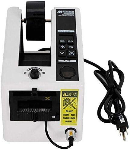 S SMAUTOP Dispensador automático de cinta, tipo estándar Dispensador de cinta de embalaje de 7-50 mm M-1000 Cortador de corte de cinta adhesiva Adecuado para diferentes cintas adhesivas