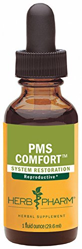 Herb Pharm PMS Comfort Herbal Formula for Support During Premenstrual Syndrome - 1 Ounce
