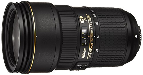 Nikon AF-S NIKKOR 24-70mm f/2.8E ED VR Lens - International Version (No Warranty)