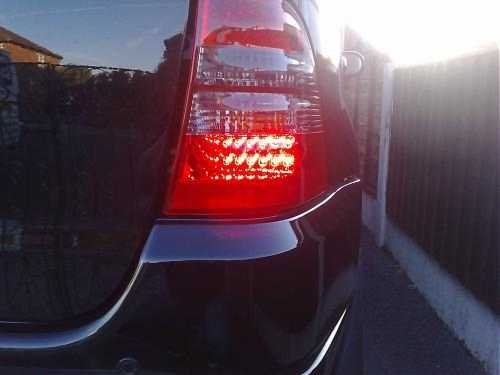 Spyder Auto Mercedes Benz W202 C-Class Red Clear LED Tail Light