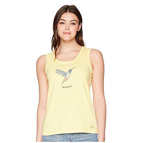 言うまでもなくのれんサージ(ライフイズグッド) Life is Good レディース トップス ノースリーブ Beautiful Hummingbird Sleeveless Crusher Tee [並行輸入品]
