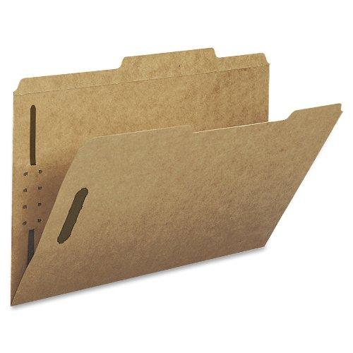 - Smead Heavyweight Fastener File Folder, 2 Fasteners, 2/5-Cut Tab Right of Center Positions, Guide Height, Legal Size, Kraft, 50 per Box (19882)