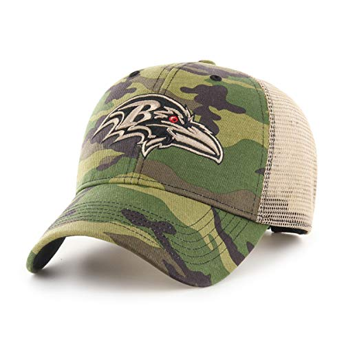 Baltimore Ravens Camouflage Caps. OTS NFL Baltimore Ravens Male Nameplate  All-Star Adjustable Hat ... a411d8080