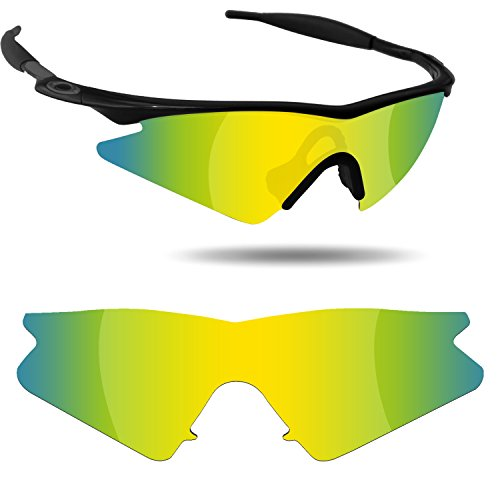 Fiskr Anti-Saltwater Polarized Replacement Lenses for Oakley M Frame Sweep Sunglasses - Various Colors by Fiskr