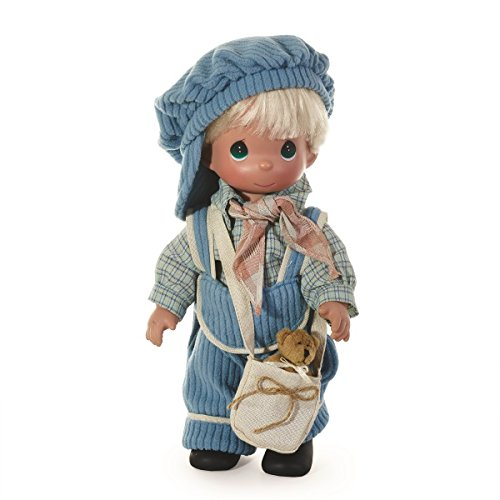 Precious Moments Dolls by The Doll Maker, Linda Rick, Boys Will be Boys, 12 inch Doll - Vinyl Doll Precious Moments