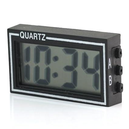 efe772875e60 Reloj Digital Electrónico para Coche Automóvil y Hogar Fecha Tiempo  Calendario