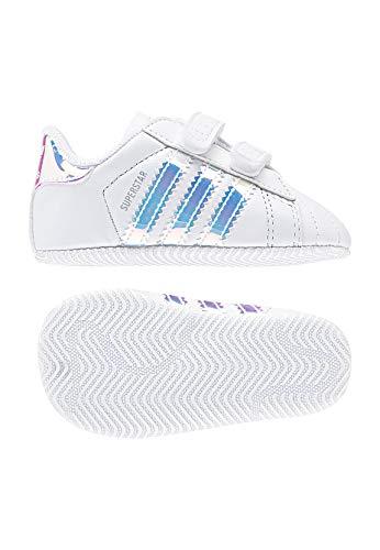 online retailer ddaba df860 Ftwr Black Blanco Unisex Gimnasia Crib White Adidas Bebé De White core  Black Superstar ftwr ftwr Zapatillas 06Wg6OqTR