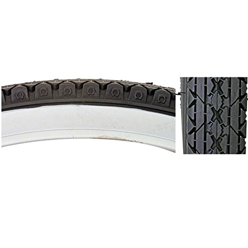 Cheng Shin C241 Street Bicycle Tire (Wire Bead, 26 x 2.125, White ()