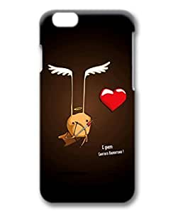 iPhone 6 Plus Case, iCustomonline Cute Heart Designs Protective Hard Case Cover for iPhone 6 Plus (5.5 inch) 3D