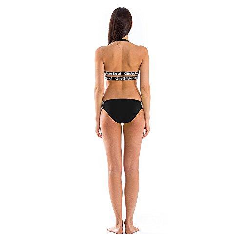 GlideSoul Signature Collection Low Parte de Abajo de Bikini, Mujer negro