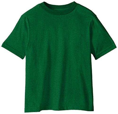 Soffe Little Boys' Pro Weight Short Sleeve Tee, Kelly, Large/7 (Kids Kellys Boys Shirt)