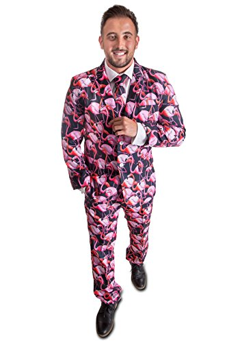Stag Suits Pink Flamingo (44